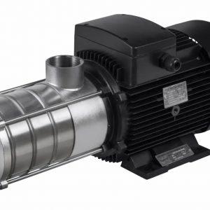 Mehrstufige, horizontale Kreiselpumpe P510 Q/max.: 2m³/h H/max.: 28m³ – Phasen Induktions Motor 230 / 400 V, 50/60 Hz 2,22 / 1,28A 2756 U/min