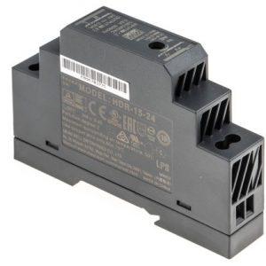 Schaltnetzteil für Hutschiene 100-240V AC / 24 V DC, 0,63A
