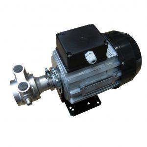 Drehschieberpumpe Edelstahlpumpe – Leistung: 1050 LPH -276 GPH – max. Ausgangsdruck: 17 bar 250 psi