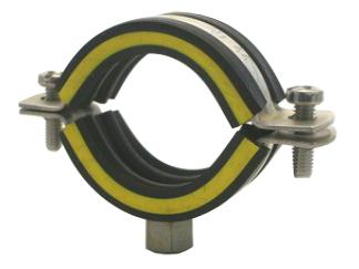 Schelle V2A 1 1/4 Zoll (40 – 44 mm) Anschlußgewinde M8