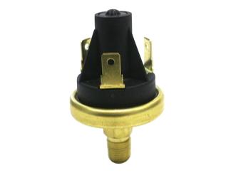 DruckschalterArbeitsdruck: 3,45 barArbeitstemperatur: -40° C bis 120° CSchalttyp: Direktauslöser, Messerkontakt