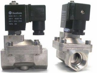 Magnetventil, Edelstahl, 3/4 Zoll, 230 V AC