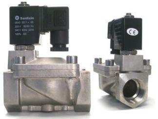 Magnetventil, Edelstahl, 1 Zoll, 230 V AC