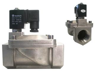 Magnetventil, Edelstahl, 1 1/2 Zoll, 230 V AC