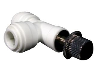 Stellventil mit Winkelverbinder – 10mm Schlauch