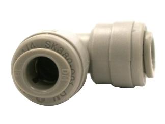 Winkelverbinder 90 Grad –  3/8 Zoll Schlauch x 1/4 Zoll Schlauch
