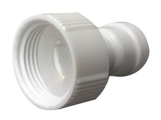 Steckverbinder mit Innengewinde –  flach –  1/4 Zoll Schlauch x 3/4 Zoll BSP(P) kunststoff