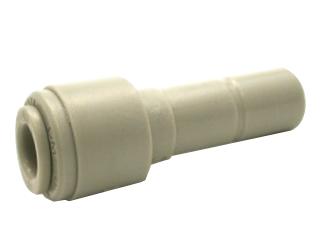 Reduzierverbinder –  1/4 Zoll Schlauch x 3/8 Zoll Stutzen