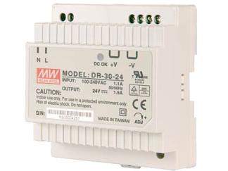 Schaltnetzteil DIN-Schienenmontage, single output 36W 24V/1,5A