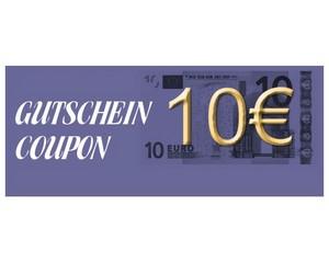 Gutschein über 10 € brutto