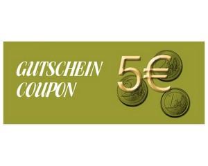 Gutschein über 5 € brutto