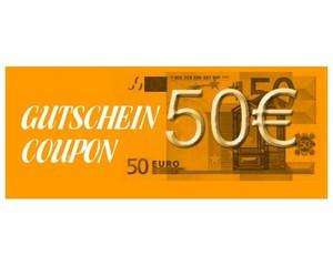 Gutschein über 50 € brutto